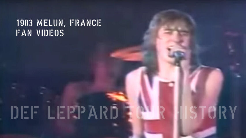 Def Leppard Fan Videos 1983.