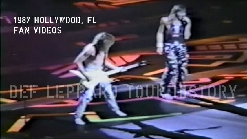 Def Leppard 1987 Hollywood Fan Videos.
