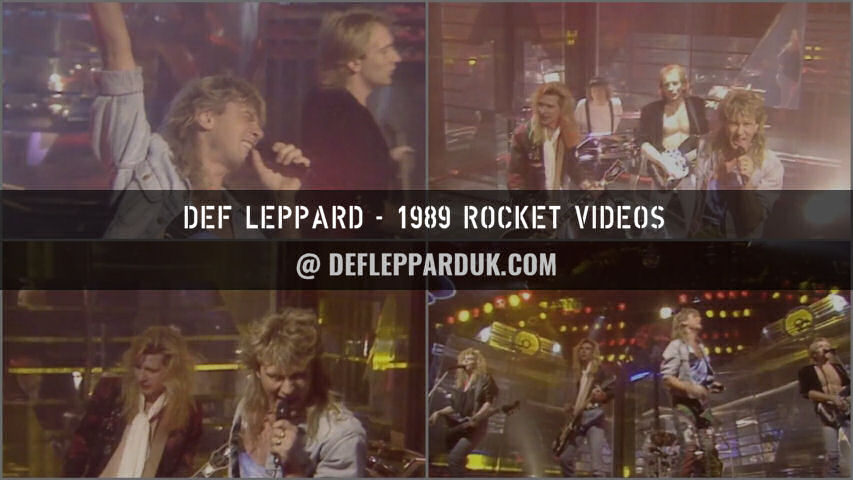 Def Leppard Fan Videos.