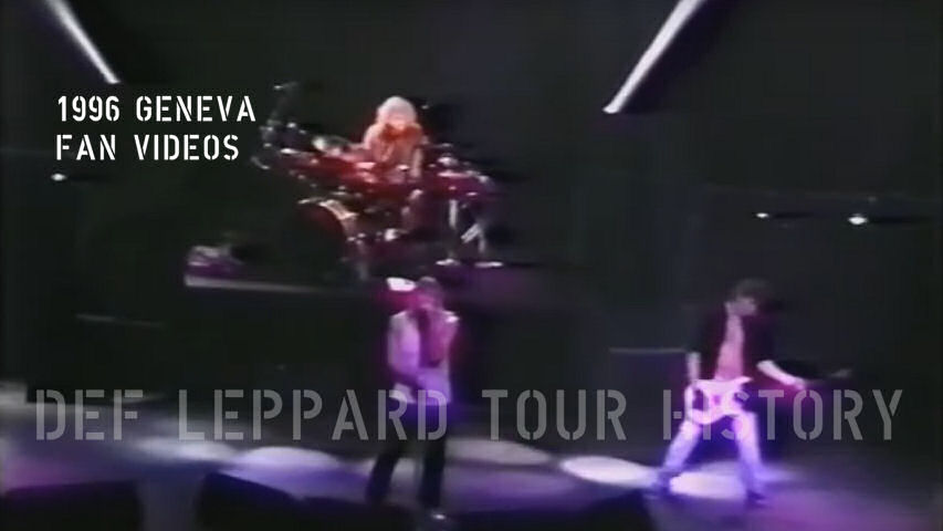 Def Leppard 1996 Geneva Fan Videos.