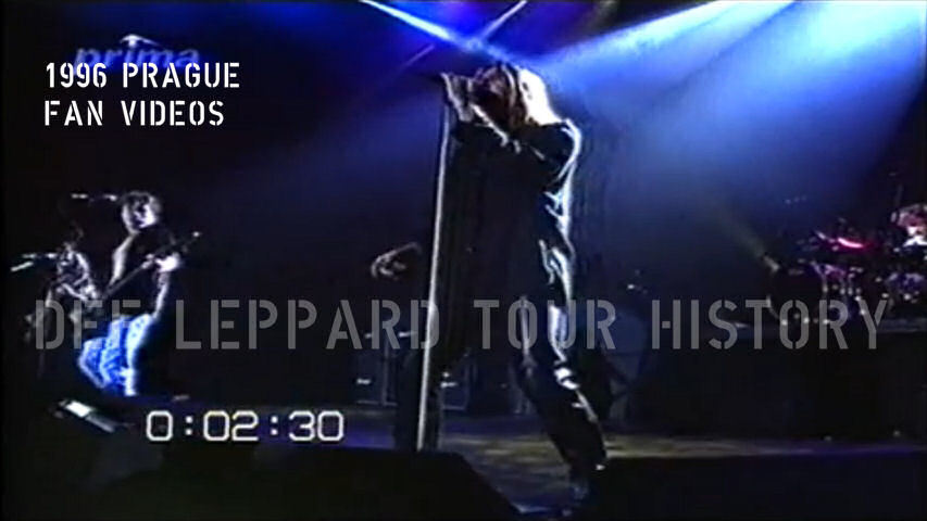 Def Leppard 1996 Prague Fan Videos.