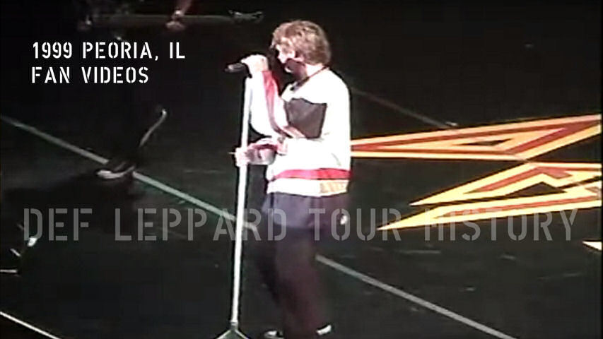 Def Leppard 1999 Peoria Fan Videos.
