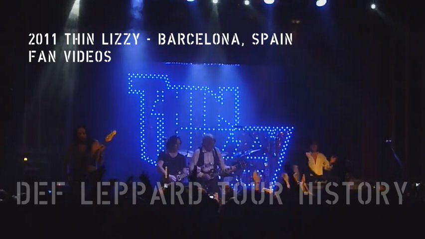 Thin Lizzy Fan Videos 2011.