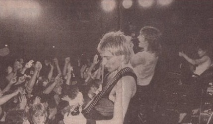 33 Years Ago Def Leppard Play First Show With Phil Collen In London.