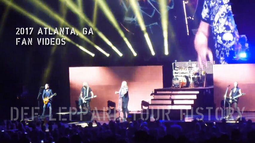 Def Leppard 2017 Atlanta, GA Fan Videos.