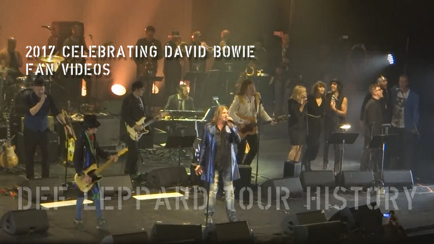 Celebrating David Bowie Fan Videos 2017.
