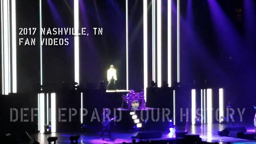 Def Leppard 2017 Nashville, TN Fan Videos.