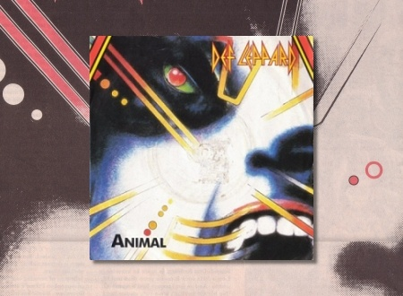 30 Years Ago DEF LEPPARD Release ANIMAL Single In The UK.