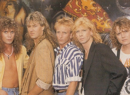 DEF LEPPARD Hysteria 30 Photo Special (1987 ANIMAL Video Shoot).