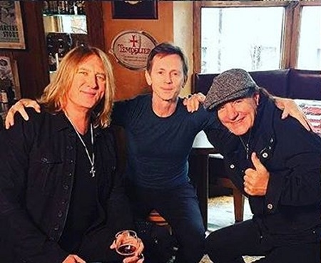 Joe Elliott 2017.