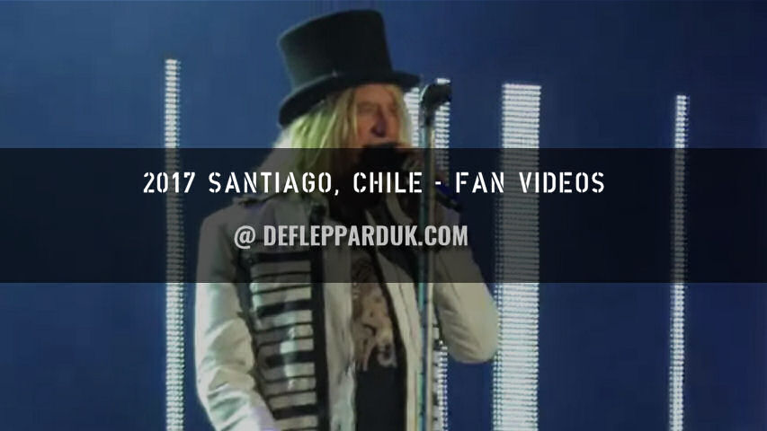 Def Leppard 2017 Fan Videos.