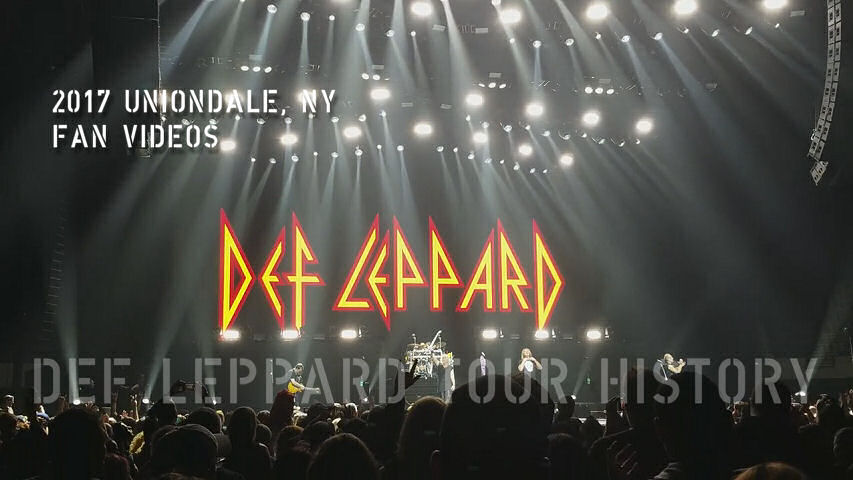 Def Leppard 2017 Uniondale, NY Fan Videos.