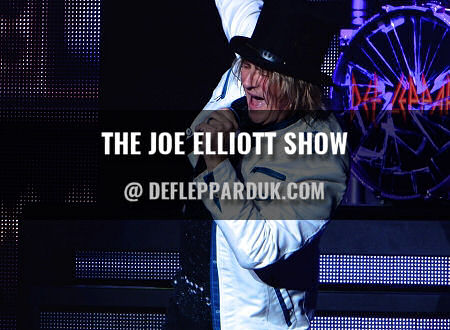 Joe Elliott 2018.