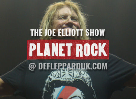 Joe Elliott 2019.