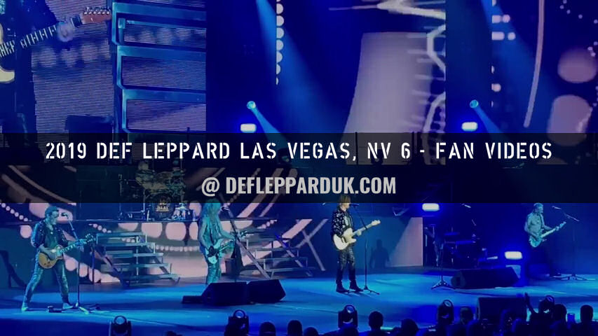 Def Leppard 2019 Fan Videos.
