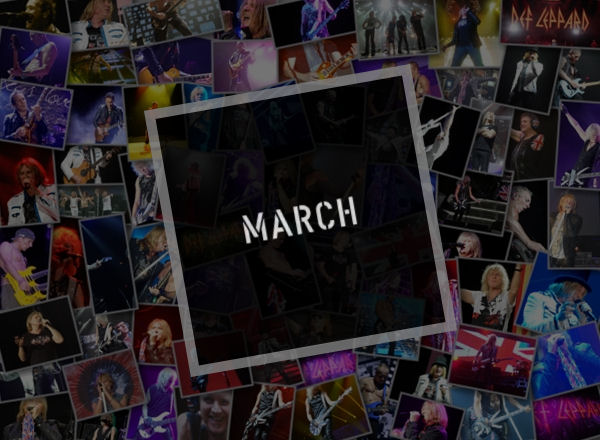 Def Leppard News March 2020