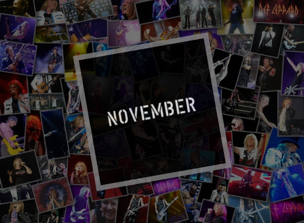 Def Leppard News November 2019