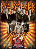 Def Leppard Rock Of Ages Tour 2012.