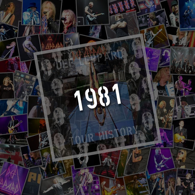 Songs Played 1981