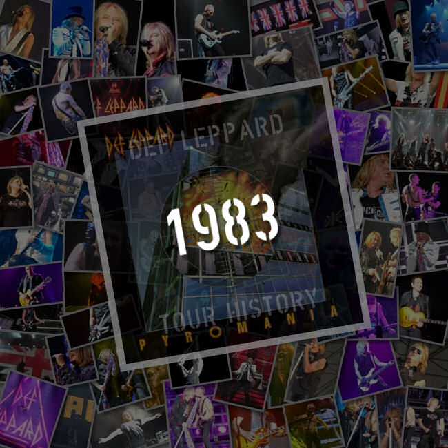 Songs Played 1983-1984
