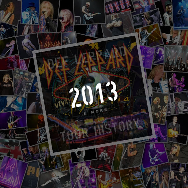 Songs Played 2013