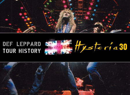 DEF LEPPARD HYSTERIA 30 Photo Countdown (Day #8).