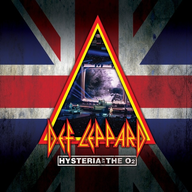 Hysteria At The O2 DVD/Blu-ray