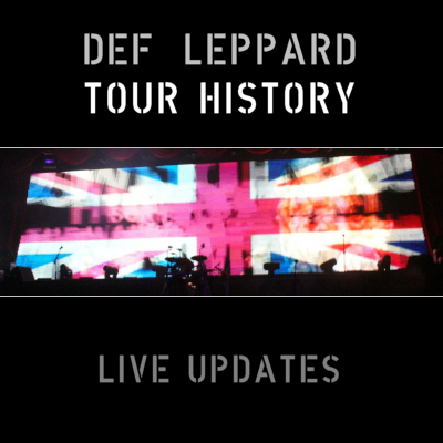 Def Leppard Live Setlist/Photo Updates 2015.