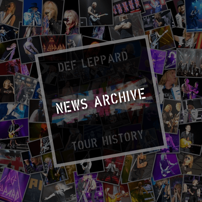 Def Leppard News Archive