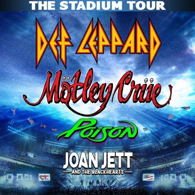 Def Leppard The Stadium Tour 2020.